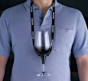 wine holder lanyard
